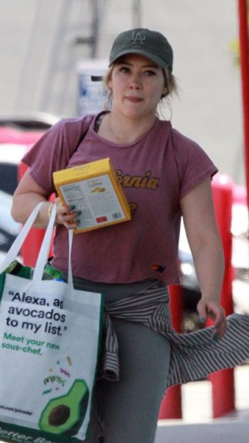 Hilary Duff – Shopping at Trader Joes in Studio City