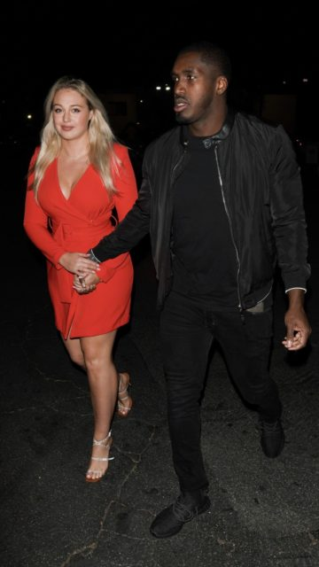 Iskra Lawrence – Out in Hollywood