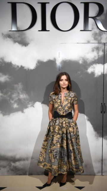 Jenna Coleman – Christian Dior Haute Couture F/W 19/20 Show in Paris