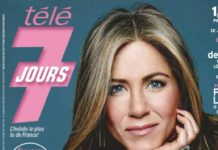 Jennifer Aniston – Tele 7 Jours Magazine