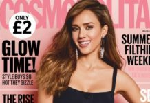 Jessica Alba – Cosmopolitan UK August 2019 Issue