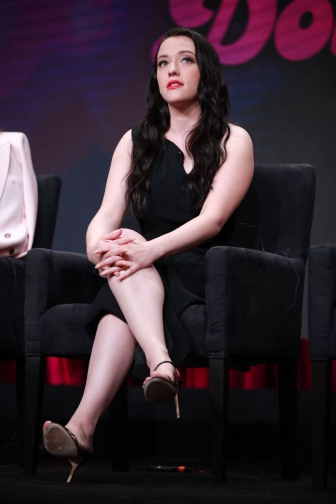 Kat Dennings, Andrew WK share a passionate kiss in new pic