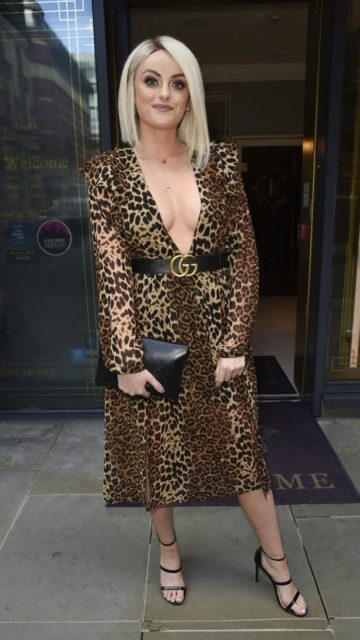 Katie McGlynn – House Of Evelyn Hair and Beauty Salon in Manchester
