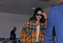 Kendall Jenner at LAX in Los Angeles