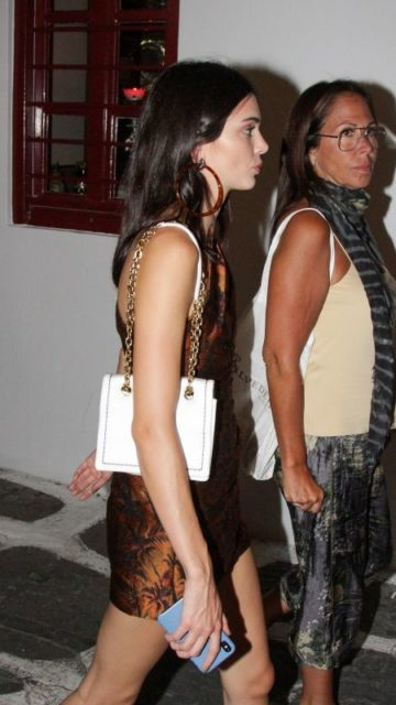Kendall Jenner – Out in Mykonos