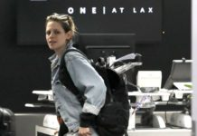 Kristen Stewart in Travel Outfit – LAX Airport in Los Angeles