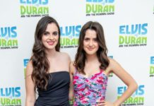 "Laura Marano and Vanessa Marano – Visit ""Elvis Duran and The Z100 Morning Show"" in NYC"