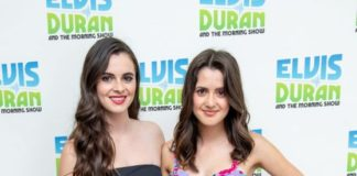 """Laura Marano and Vanessa Marano – Visit """"Elvis Duran and The Z100 Morning Show"""" in NYC"""