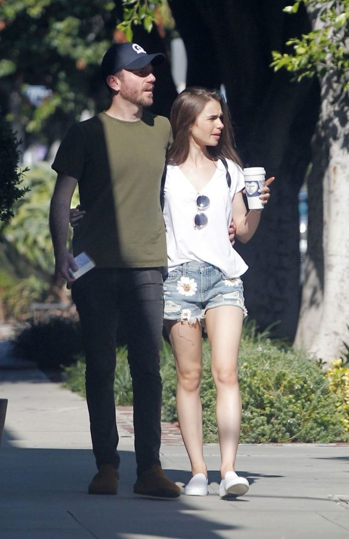 Lily Collins and Charlie Mcdowell – Out in Los Feliz