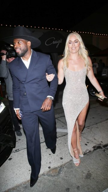 Lindsey Vonn at Craig's in West Hollywood