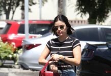 Lucy Hale – Coffee Bean in Studio City