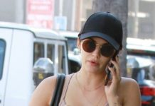 Lucy Hale – Heading to the Gym in Studio City