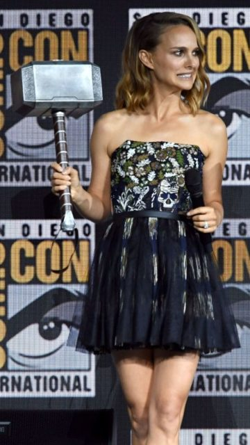 Natalie Portman – Marvel Presentation at SDCC 2019