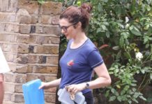 Rachel Weisz – Leaving Her Home in London