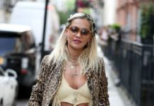 Rita Ora – Arrived at Scotts Restaurant in London