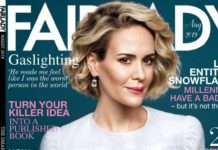 Sarah Paulson – Fairlady Magazine August 2019 Issue