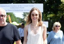 Suki Waterhouse – Arrives at Wimbledon Tennis Championships in London