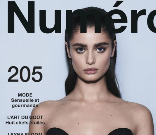 Taylor Hill – Hugh Lippe for Numéro Magazine August 2019