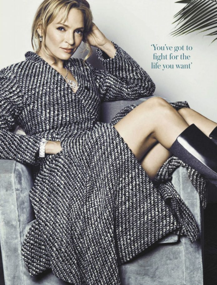 Uma Thurman – Woman and Home Magazine South Africa August 2019 Issue