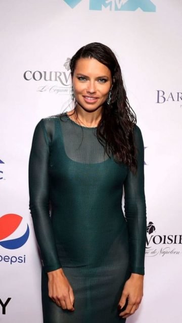 Adriana Lima – Missy Elliott's VMA After Party in New York