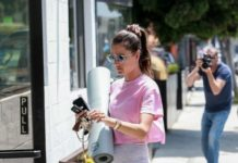 Alessandra Ambrosio – Out in Santa Monica
