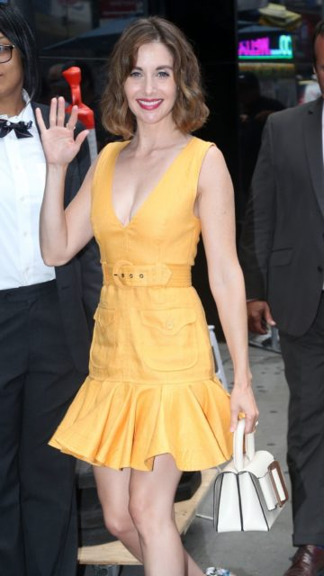 Alison Brie – GMA in NYC