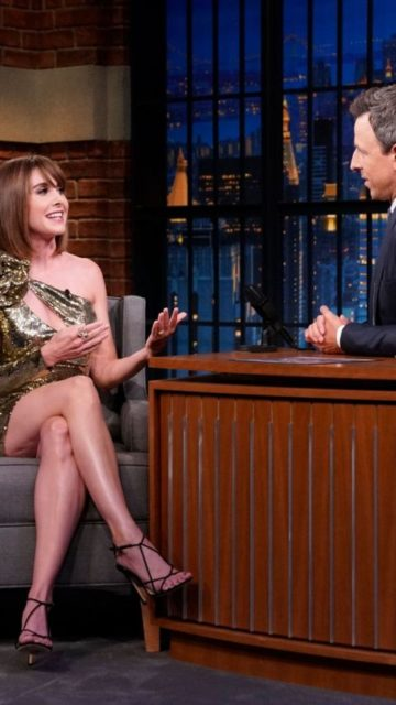 Alison Brie – Late Night With Seth Meyers in NYC