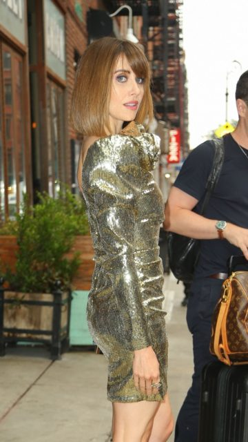 Alison Brie – Leaving The Ludlow Hotel in NYC