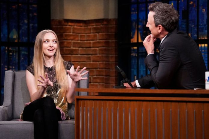 Amanda Seyfried – Late Night With Seth Meyers in NYC
