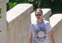 Amanda Seyfried – Walking Her Dogg in Hollywood