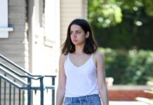 Ana de Armas – Walking Her Dog in Los Angeles