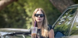 Ashley Benson – Visits a Friend in LA