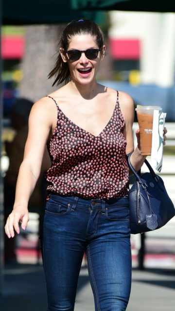 Ashley Greene Street Style
