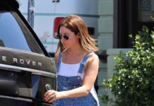 Ashley Tisdale – Out in LA