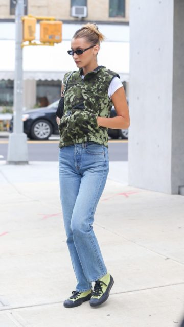 Bella Hadid Street Style – Out in NYC