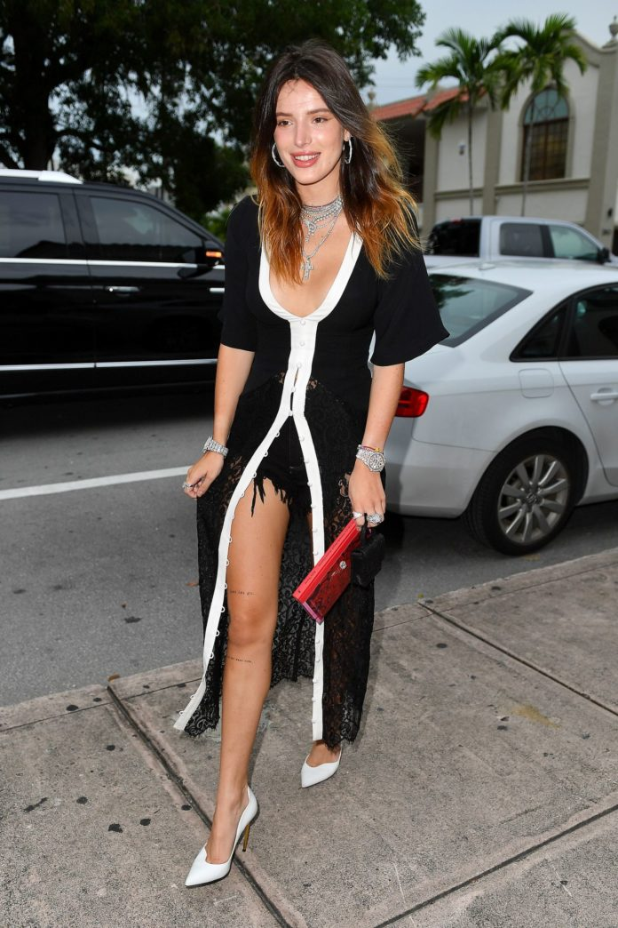 Bella Thorne – Arriving for Her Book Signing in Coral Gables