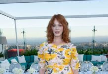 Christina Hendricks – Instyle's Badass Women Dinner in West Hollywood