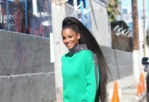 Ciara – Heads to Film America's Most Musical Family in Los Angeles