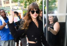 Dakota Johnson – Arrives to a Radio Station in NYC
