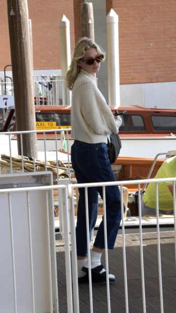 Elsa Hosk – Arrives in Venice Marco Polo Airport