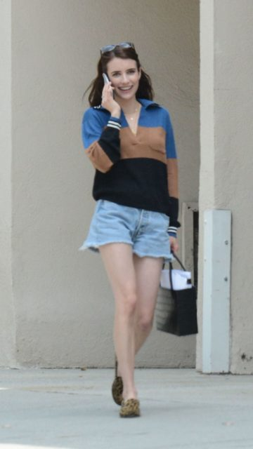 Emma Roberts – Out in Los Feliz