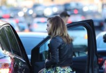 Emma Watson – Arriving for a Party in West Hollywood