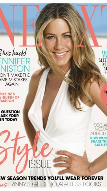 Jennifer Aniston – Next New Zealand Magazine September 2019 Issue