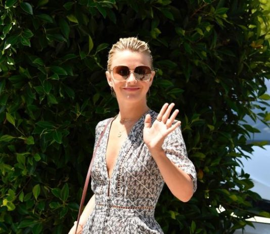 """Julianne Hough – InStyle's """"Day of Indulgence"""" Party in Brentwood"""