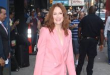 Julianne Moore – Outside Good Morning America in NYC