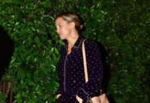 Kate Hudson – Leaving Dinner in LA