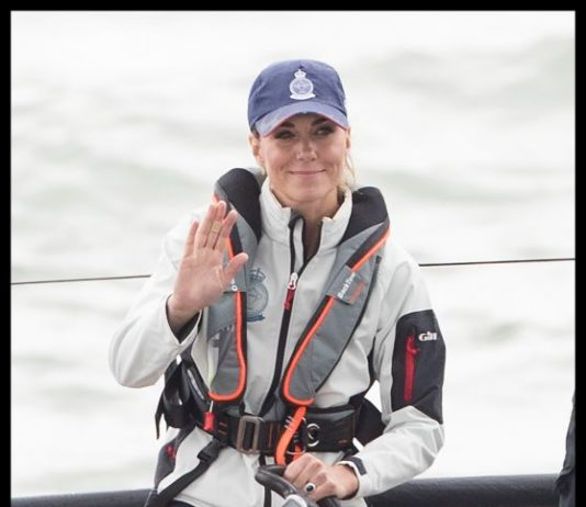 Kate Middleton and Prince William – King's Cup Regatta on the Isle of Wight, England