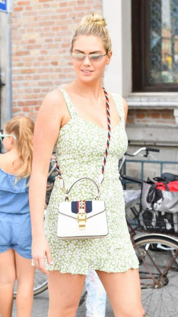 Kate Upton Cute Street Style – Venice, Italy