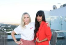 Laura Brown and Jameela Jamil – Instyle's Badass Women Dinner in West Hollywood