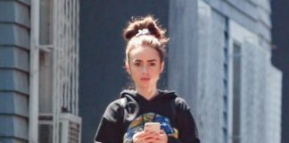 Lily Collins – Leaving a Pilates Class Hollywood
